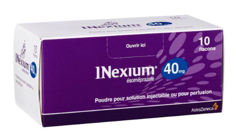 Inexium: posologie et contre-indications